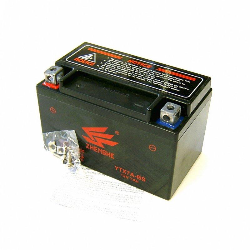 9 - Batterie 12V/7Ah 12N7L-BS (wartungsfrei / GEL), 49,50