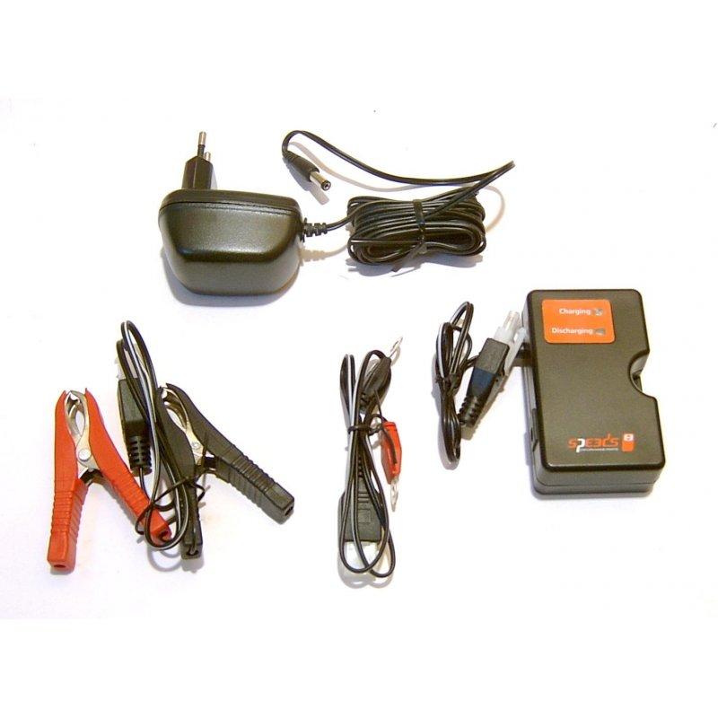 batterie erhaltungs ladeger t f r rollerbatterien 12v 4 100. Black Bedroom Furniture Sets. Home Design Ideas