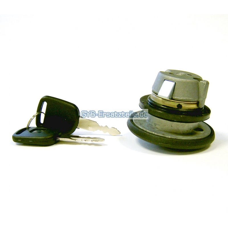 2EXTREME Tankdeckel abschlie/ßbar f/ür BAOTIAN BT49QT-22 YY50QT-6 BENZHOU YY125T-6
